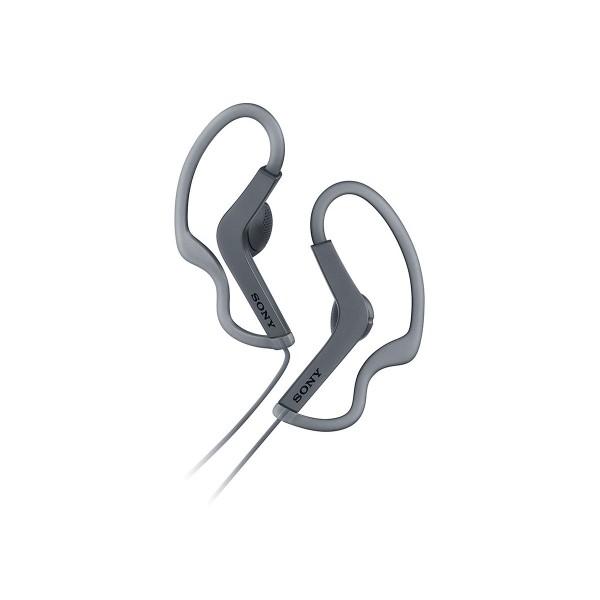 Sony mdr-as210 negro auriculares deportivos internos con diseño resistente al sudor
