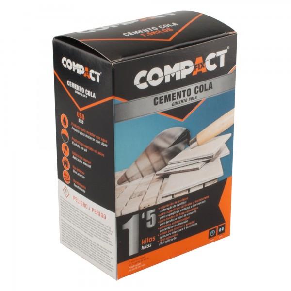 Cemento cola 1,5 kg. compact