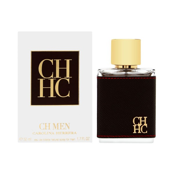 Carolina herrera ch men eau de toilette 50ml vaporizador