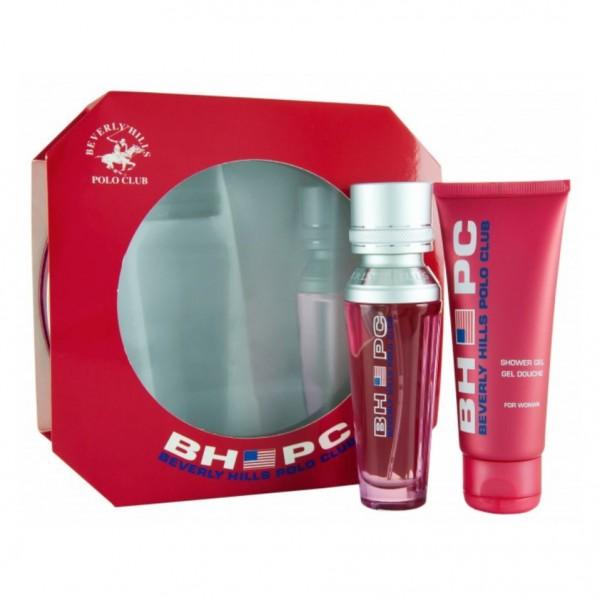 Beverly hills sport pour femme eau de toilette 50ml vaporizador + gel 75ml