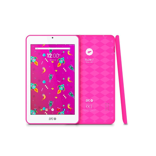 Spc flow 7 rosa tablet wifi 7.0'' ips/4core/8gb/1gb ram/vga
